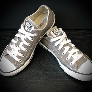 Unisex Taupe Converse Sneakers